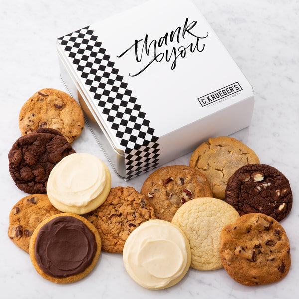 Thank You Gift Tin - Each & Every Cookie