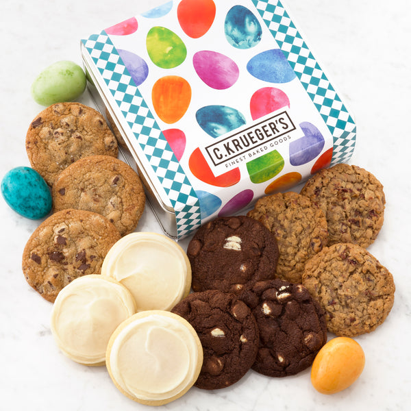 Happy Easter Gift Tin - Select Your Cookies