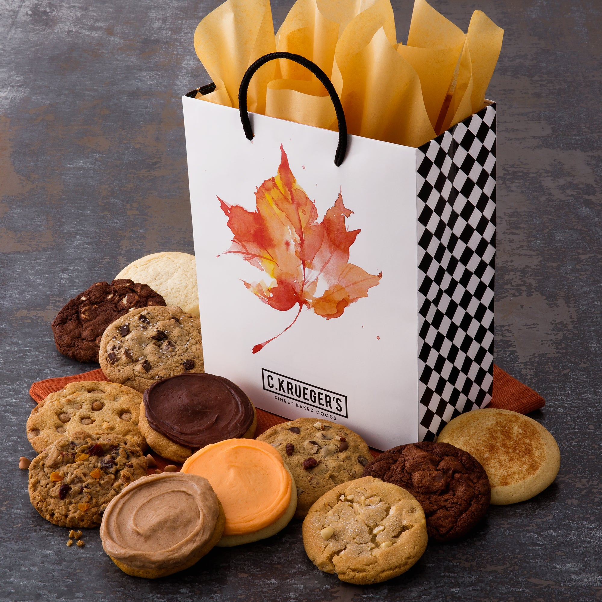 Fall Leaves Gift Bag - All Kinds