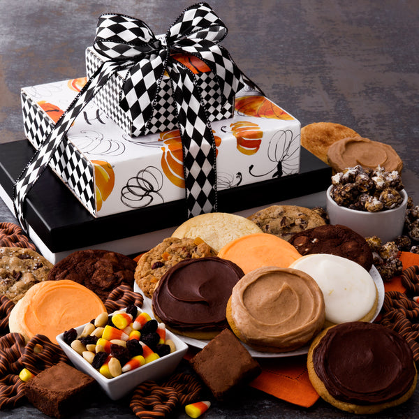 Happy Halloween Gift Stack - Cookies & Snacks