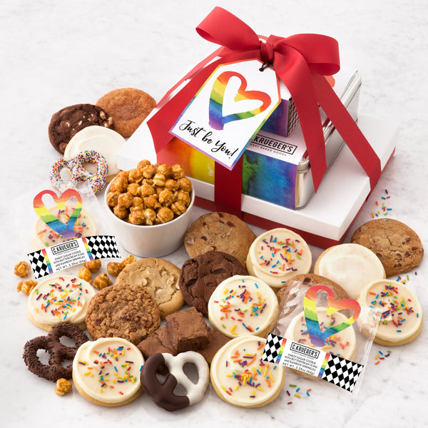 Just Be You Gift Stack - Cookies & Snacks