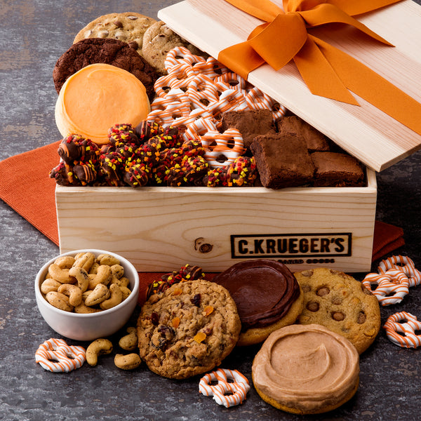 Fall Gift Crate - Cookies & Snacks