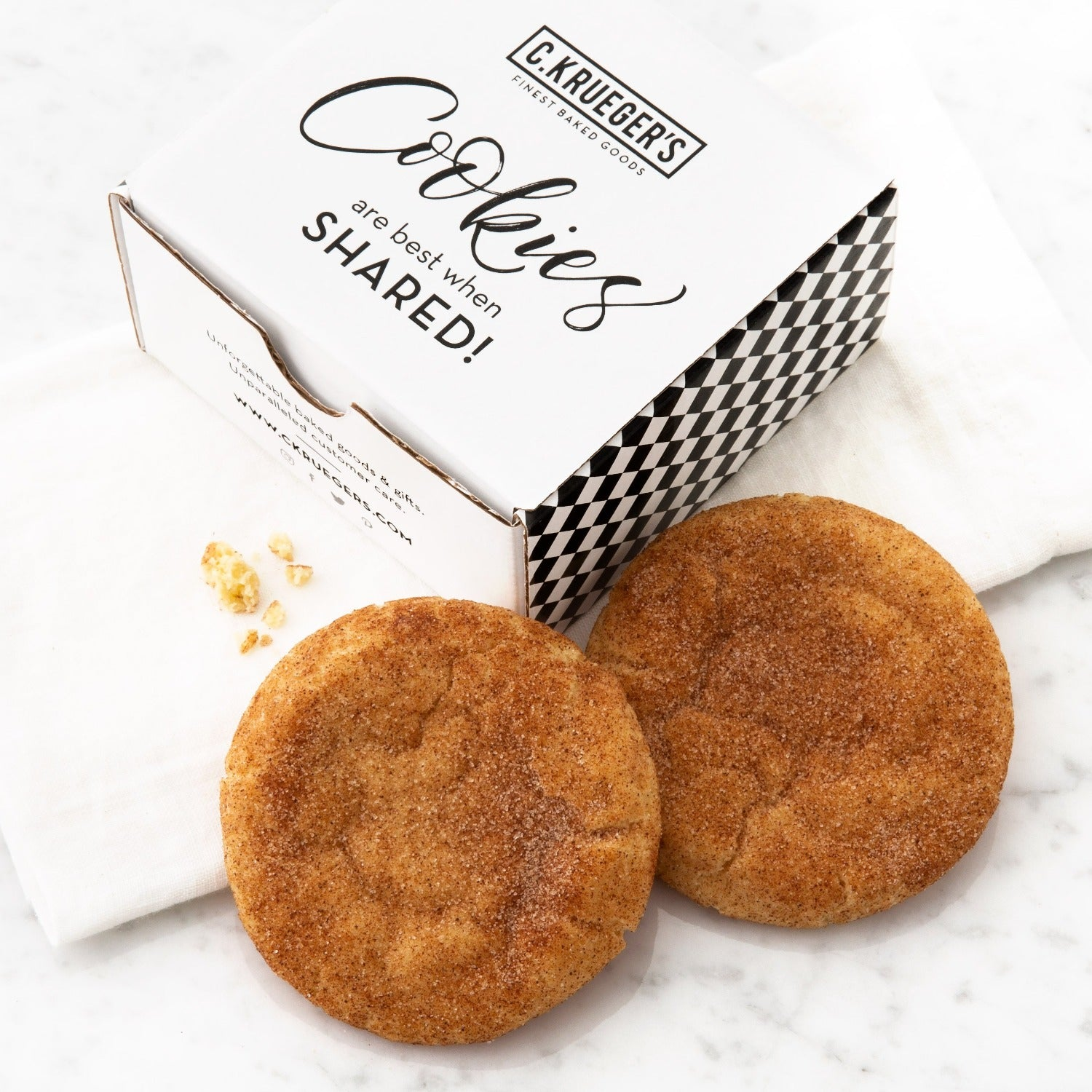 Duo Flavor Sampler - Snickerdoodle