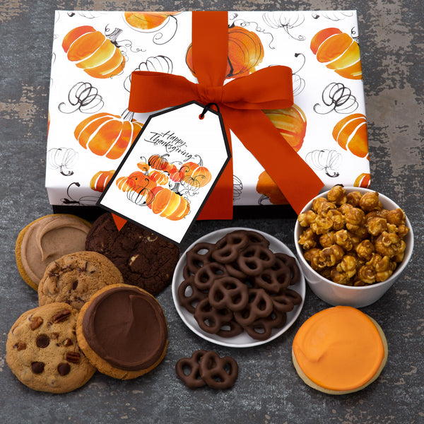 Thanksgiving Luxe Box - Cookies & Snacks