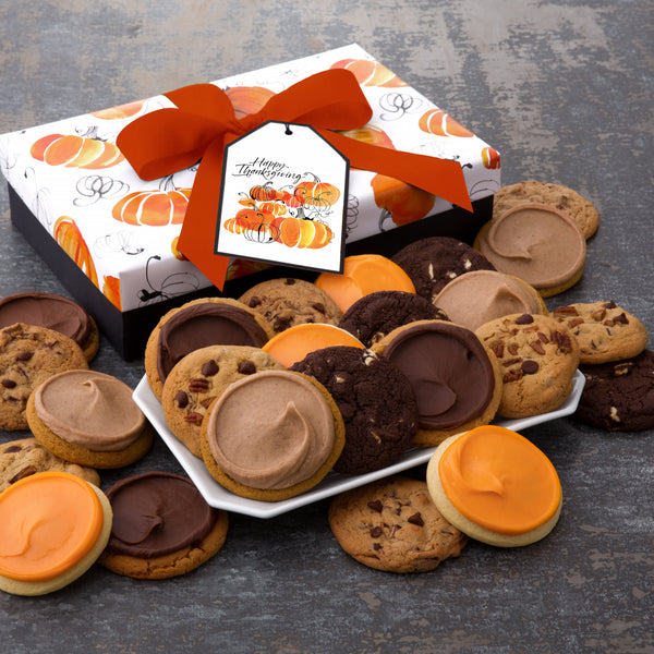 Thanksgiving Luxe Cookie Box - All Kinds
