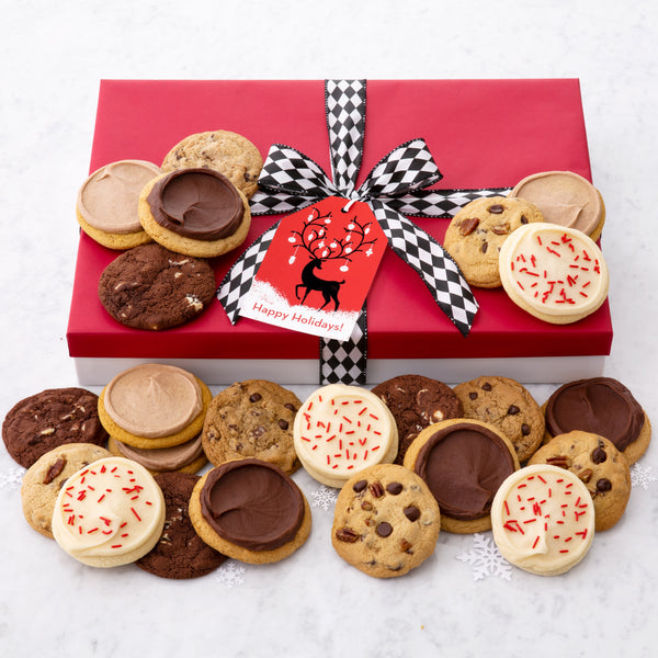 Holiday Reindeer Luxe Gift Box - Every Flavor Cookie We Bake