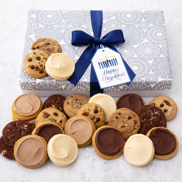 Happy Hanukkah Luxe Cookie Box - Assorted