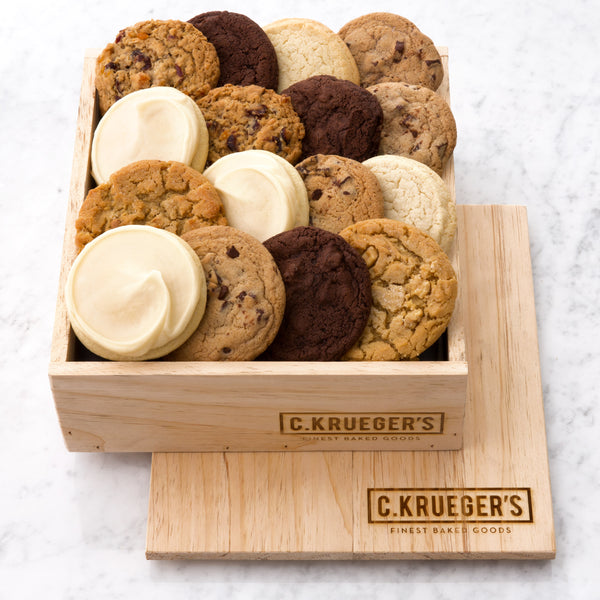 C. Krueger's Every Occasion Gift Crate - Select Your Cookies