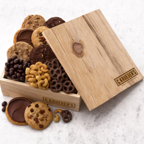 C.Krueger's Every Occasion Gift Crate - Cookies & Snacks