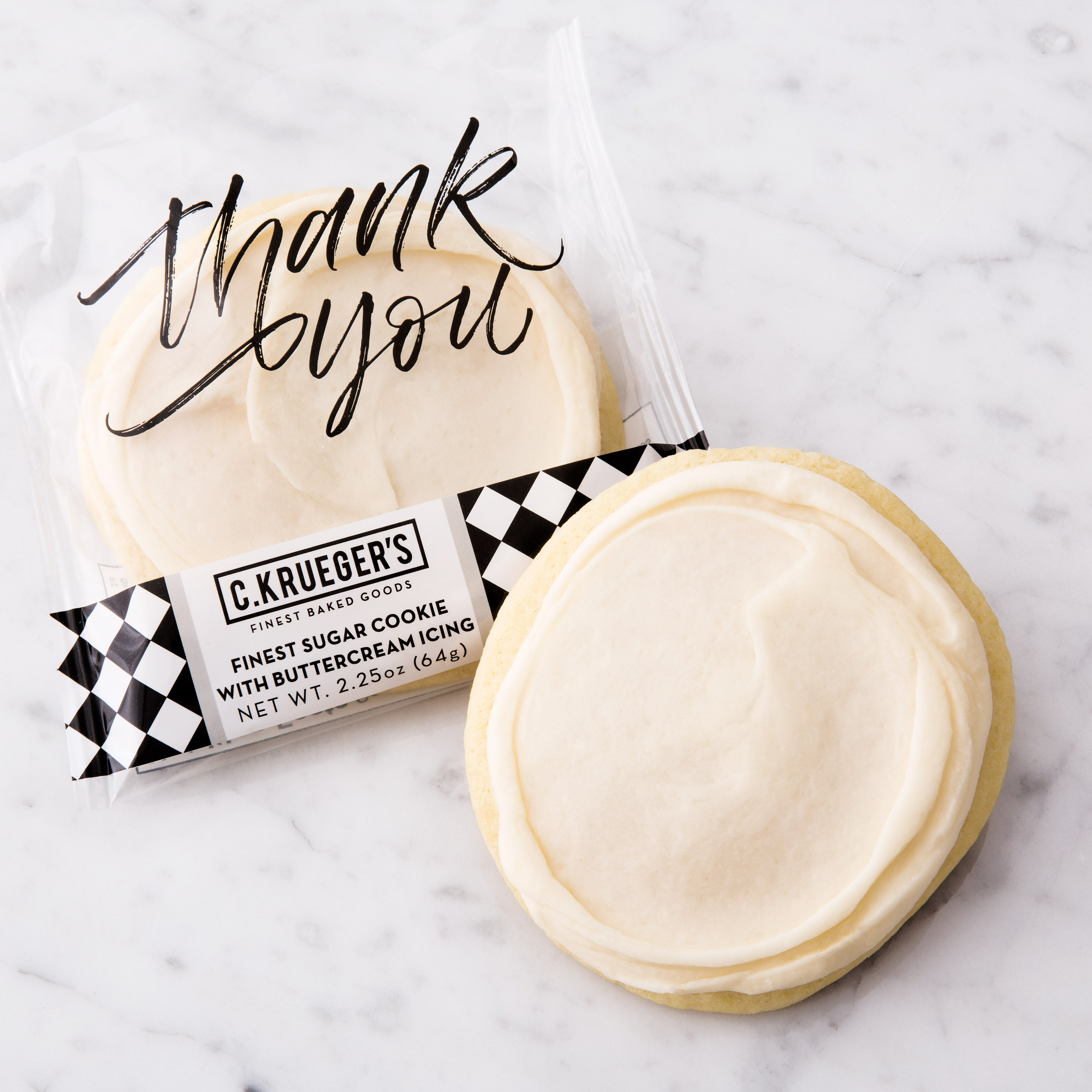 Finest Thank You Sugar Cookie with Buttercream Icing
