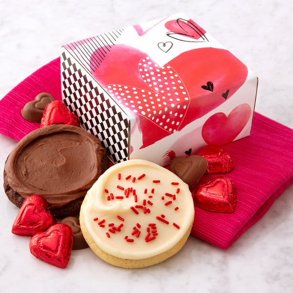 Valentine Cookies Are Best When Shared - Cookies & Chocolates