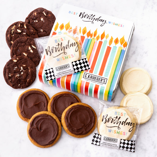 Birthday Gift Tin - Select Your Cookies