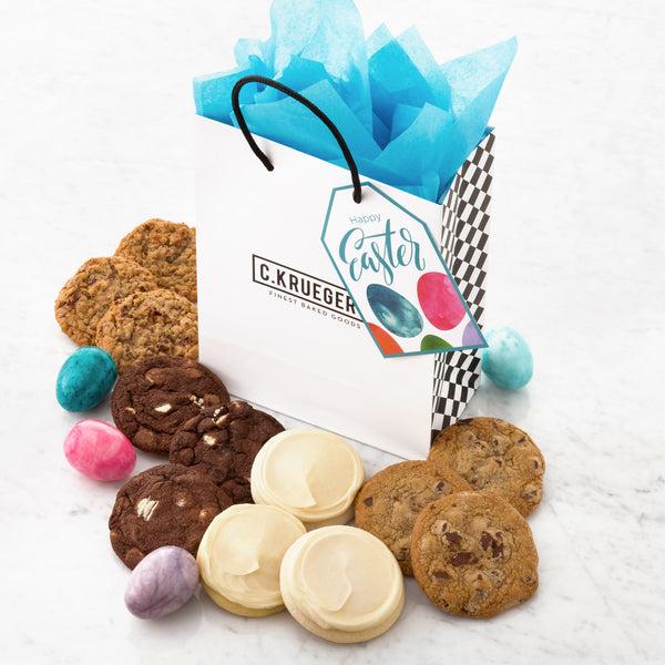 Happy Easter Gift Bag - Select Your Cookies