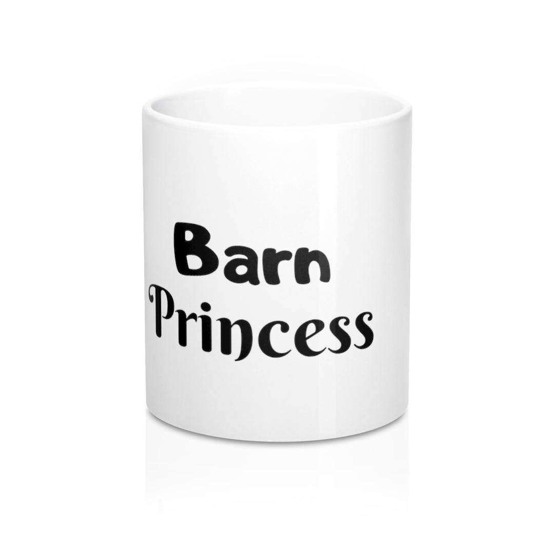 Barn Princess Coffee Mug from the