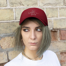 Load image into Gallery viewer, She's Whiskey in a Teacup Unisex Embroidery Cap