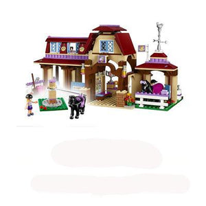594pcs Heartland Riding Club Building Compatible with Lego