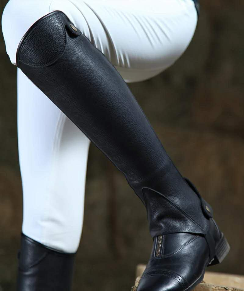 Leather English Riding Boots