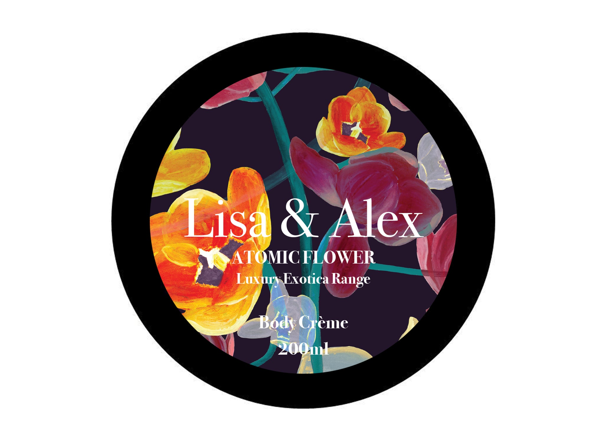 Lisa & Alex Atomic Flower Body Crème