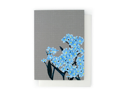 ARTISAN GREETING CARD Elderflower & Coconut - Lisa & Alex