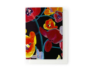 ARTISAN GREETING CARD Atomic Flower
