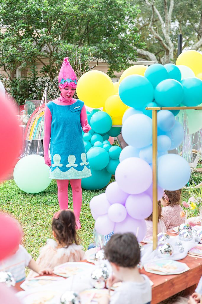 trolls birthday party  character