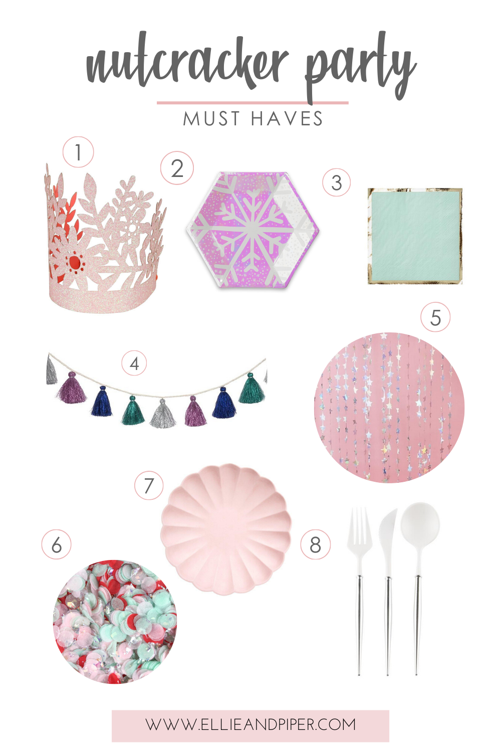 Nutcracker party must haves