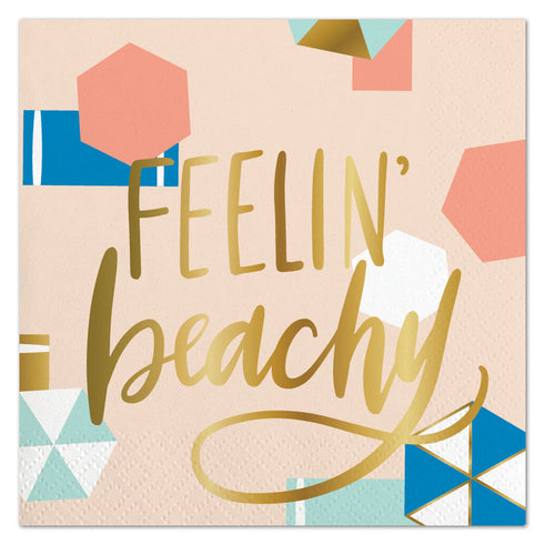 Feelin Beachy Napkins Ellie & Piper Party Boutique