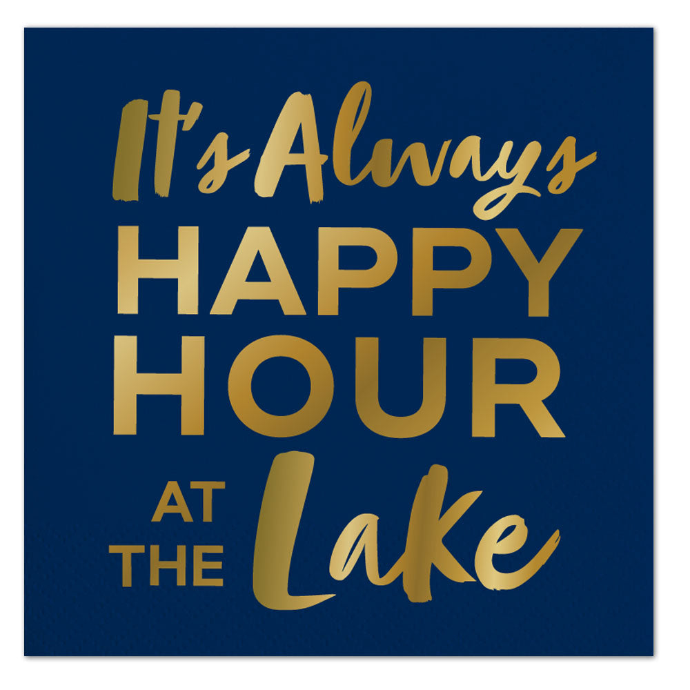 Happy Hour Lake Napkins - Ellie and Piper