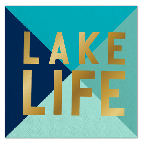 Lake Life Napkins Ellie & Piper Party Boutique