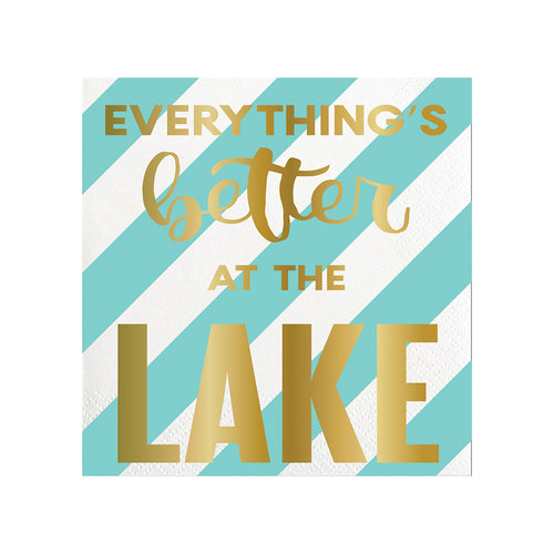 Better At The Lake Napkins Ellie & Piper Party Boutique