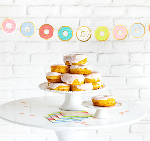 Bakery Donut Banner Ellie & Piper Party Boutique