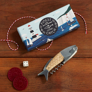 The Finest Catch 3-in-1 Bottle Tool Opener in Gift Box