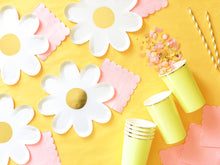 Yellow Tall Party Paper Cups - Ellie and Piper