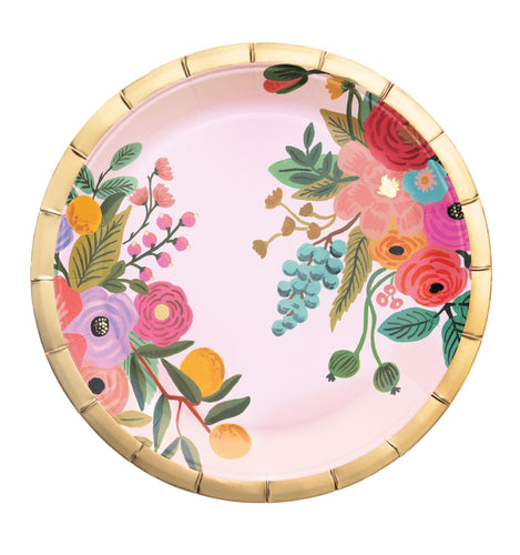Garden Party Large Paper Dinner Plates - Ellie and Piper