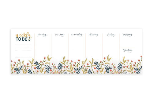 Meadow Weekly Notepad
