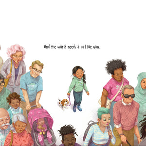 A Girl Like You Children's Book - Ellie and Piper