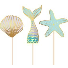 Assorted Mermaid Treat Sticks - Ellie and Piper