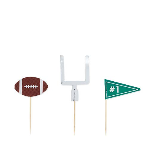 Assorted Football Tailgate Treat Picks