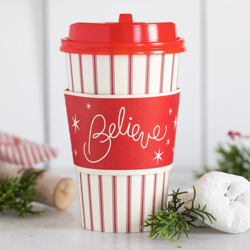 Believe Coffee To-Go Cups - Ellie and Piper