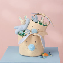 Blue Bunny Face Easter Baskets (Set of 2) - Ellie and Piper
