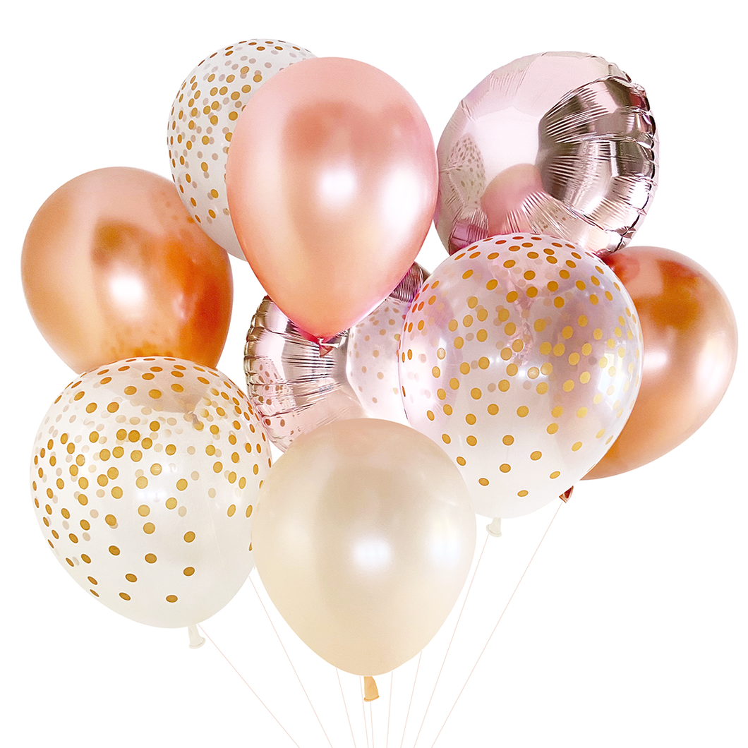 Balloon Bouquet - Rose Gold - Ellie and Piper