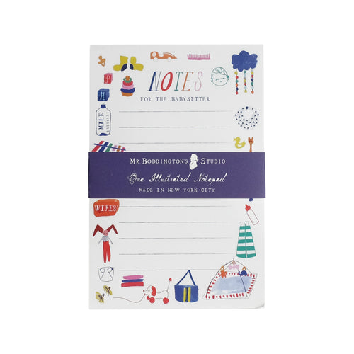 Notes To The Babysitter Notepad Ellie & Piper Party Boutique