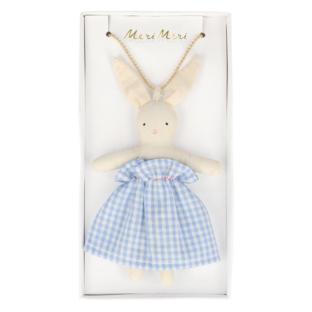 Bunny Doll Necklace - Ellie and Piper