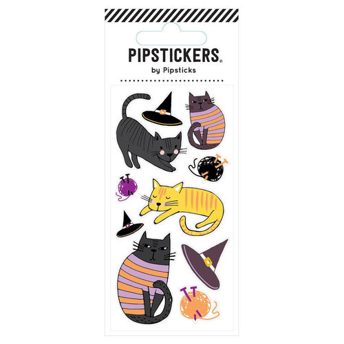 Cats Hats Stickers - Ellie and Piper