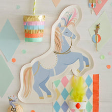 Circus Stallion Paper Plates - Ellie and Piper