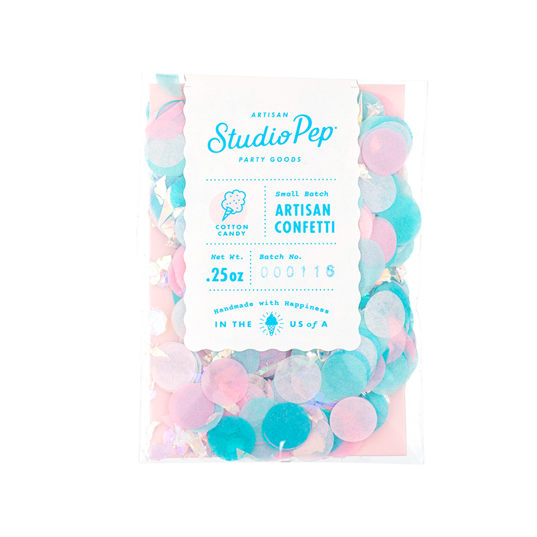 Cotton Candy Mini Confetti Pack - Ellie and Piper