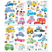Crazy Car Town Sticker Activity Tote - Ellie and Piper
