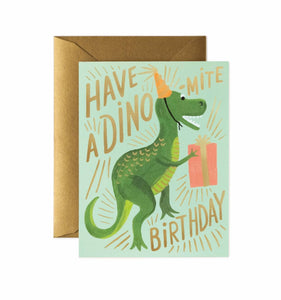 Dino-Mite Birthday Card - Ellie and Piper