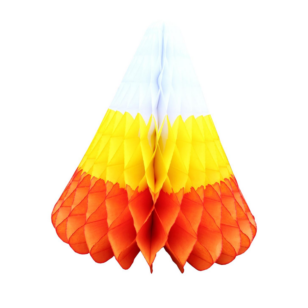 Honeycomb Candy Corn Decoration - Ellie and Piper