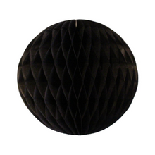 Black Tissue Paper Honeycomb Ball (2 sizes) - Ellie and Piper